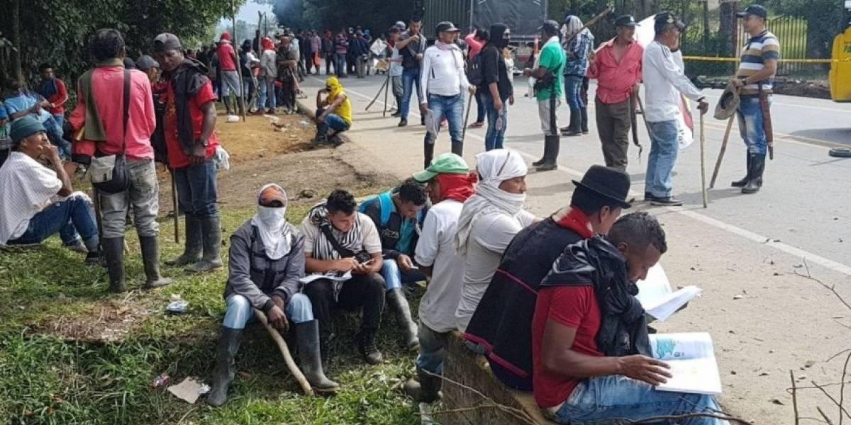 Campesinos acuerdan con el Gobierno terminar paro en el Catatumbo