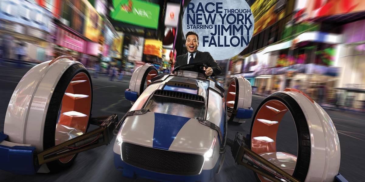 Uma corrida por Nova Iorque com Jimmy Fallon