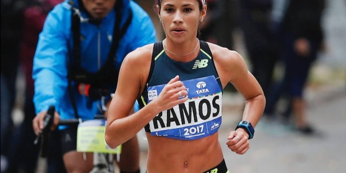 Beverly Ramos mejoró su tiempo en maratón de Nueva York