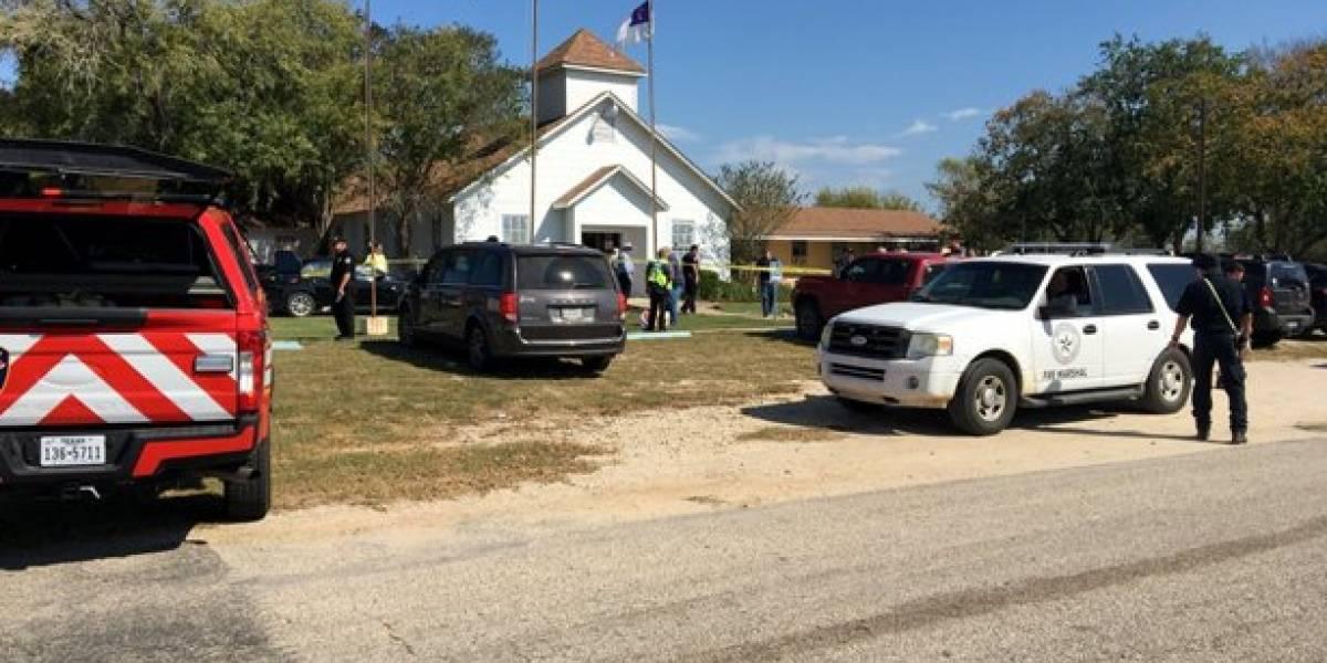 Tiroteo en iglesia de Texas deja varias personas muertas este domingo