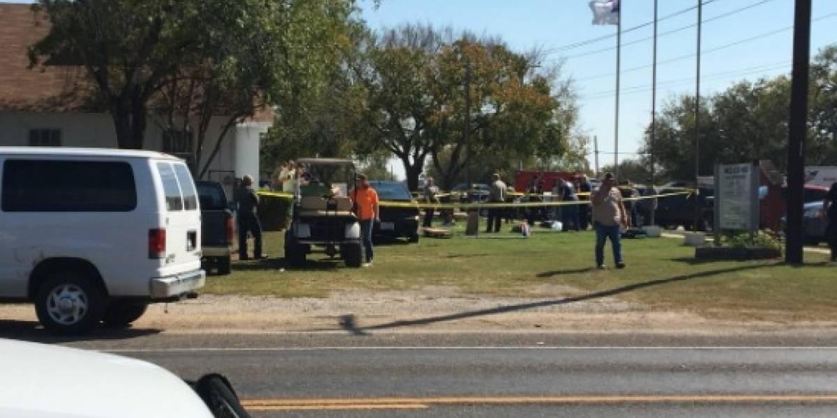 ¡Atención! Tiroteo en una iglesia de Texas deja al menos 27 muertos