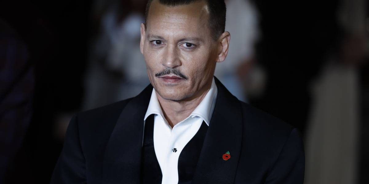 Johnny Depp llegó ebrio al estreno de