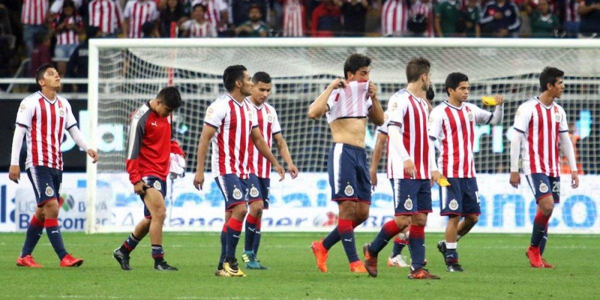 Chivas, décimo sexto campeón incapaz de acceder a Liguilla