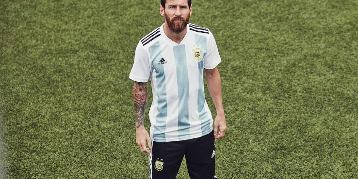 Argentina, Alemanha e Espanha apresentam camisas para a Copa 2018
