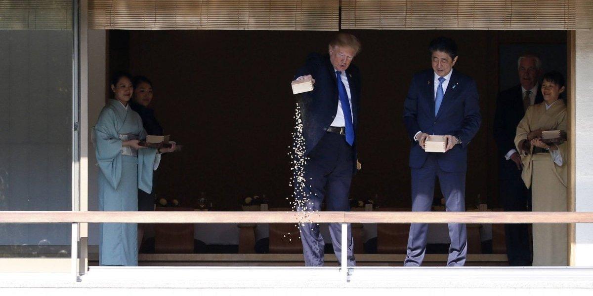 Ni los peces se salvan de la 'impaciencia' de Trump