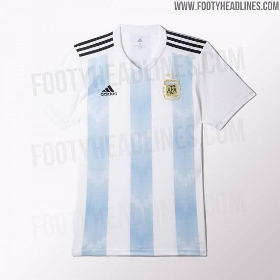 Argentina Reprodução/Footy Headlines