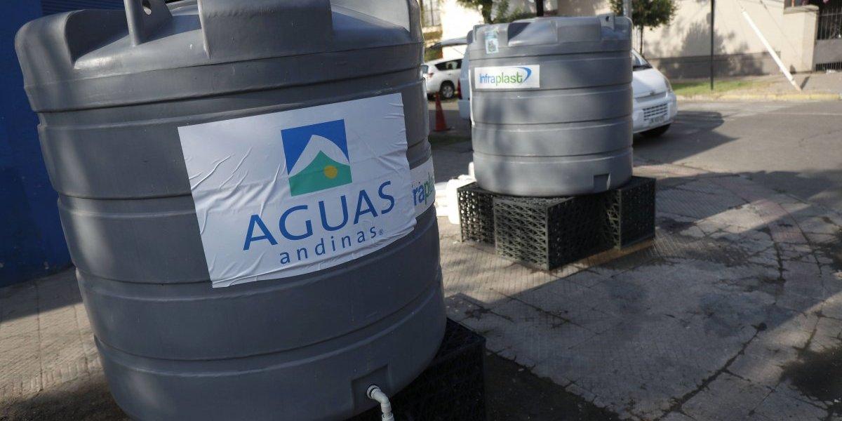 No se quede sin agua: Aguas Andinas informa corte programado para Ñuñoa, La Reina y Peñalolén