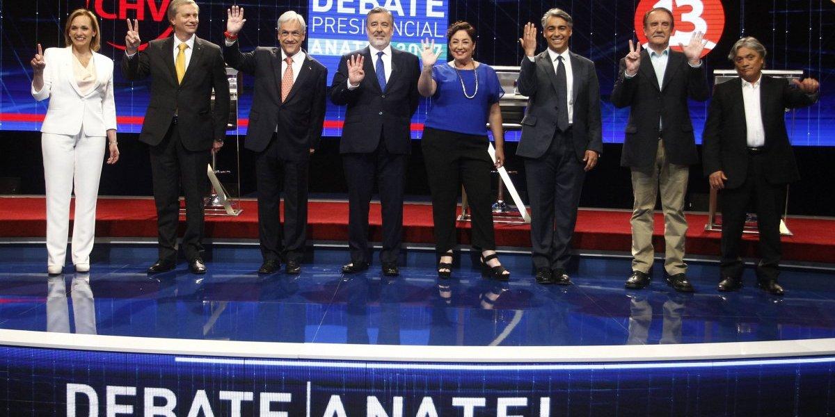 El debate final: Round entre MEO y Guillier marcó el último enfrentamiento antes del 19 de noviembre
