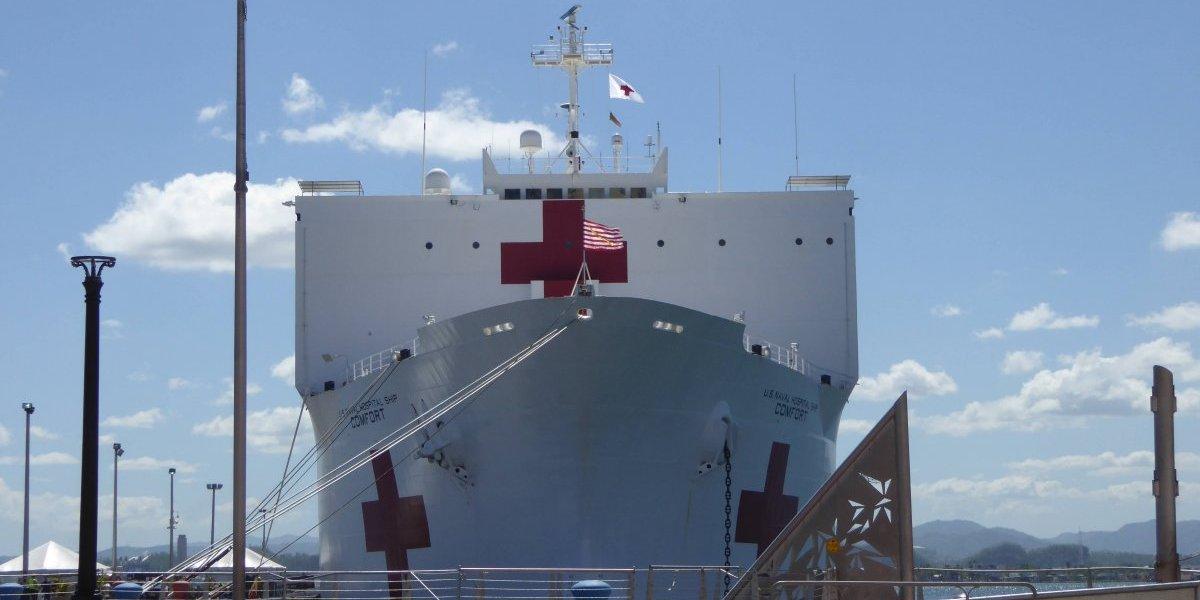 Barco hospital dejará de dar servicios en San Juan