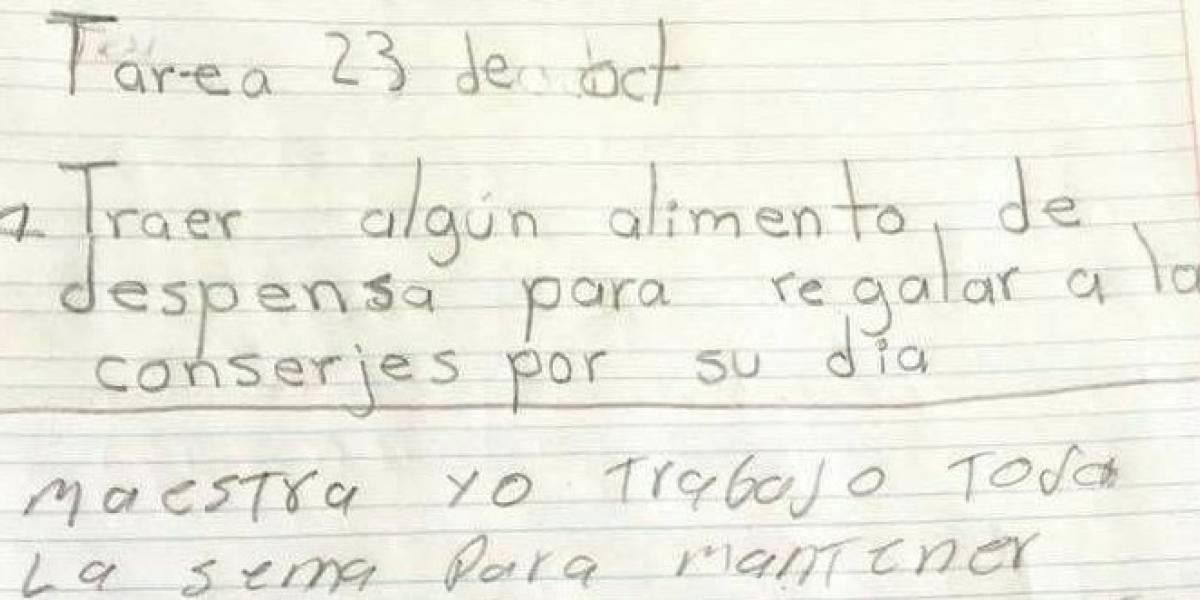 """""""Yo trabajo para mantener a mi familia, no a guebones"""": profesora pide cooperación a alumnos y apoderada le responde"""
