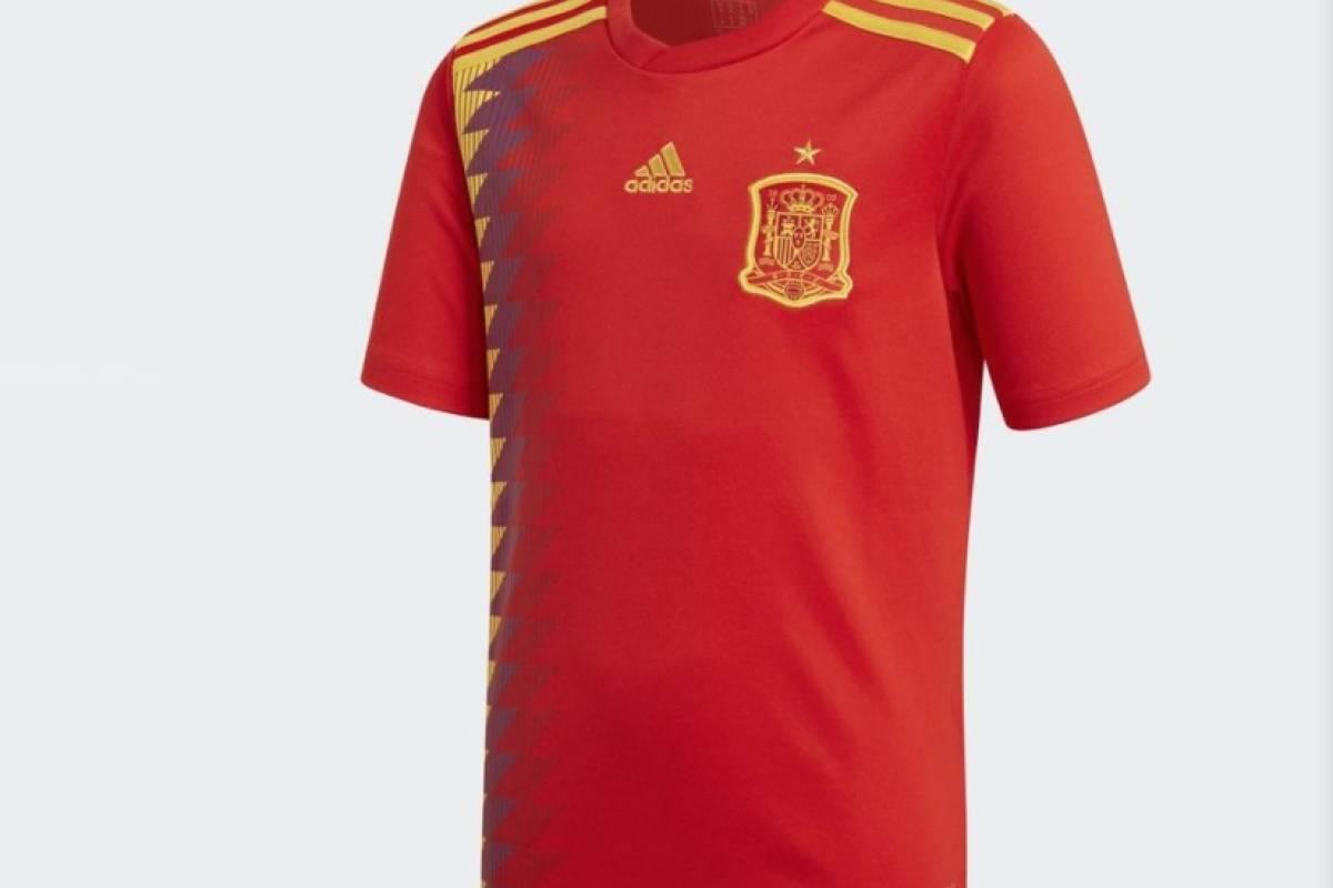 La Furia Roja en la camiseta de España