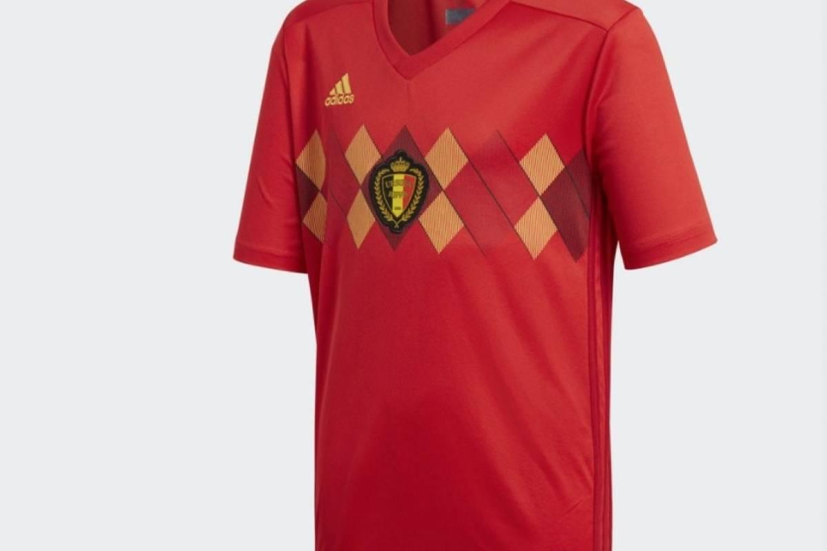 Bélgica y su nueva camiseta