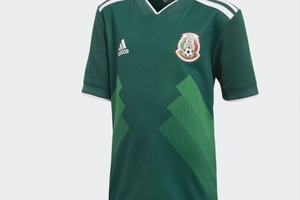 La Selección Mexicana y su nueva camiseta
