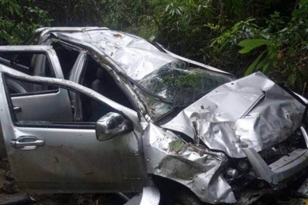 Accidente famosas colombianas