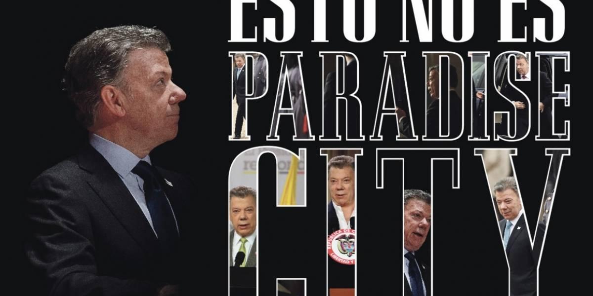 Juan Manuel Santos, en líos por los paraísos fiscales