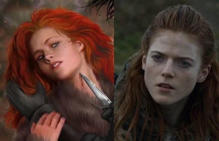 Ygritte, novia de John Snow, es más salvaje de lo que creíamos