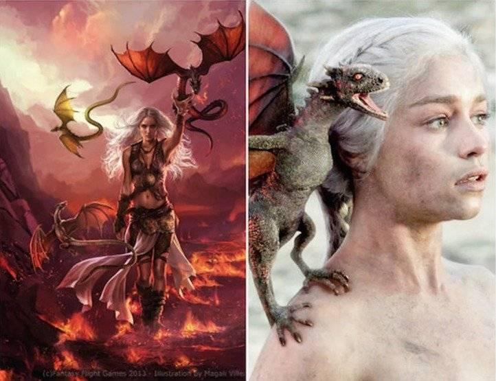 La Madre de Dragones