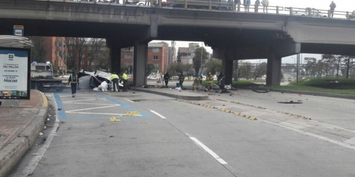 Accidente de transito, en la carrera 30, deja tres personas muertas