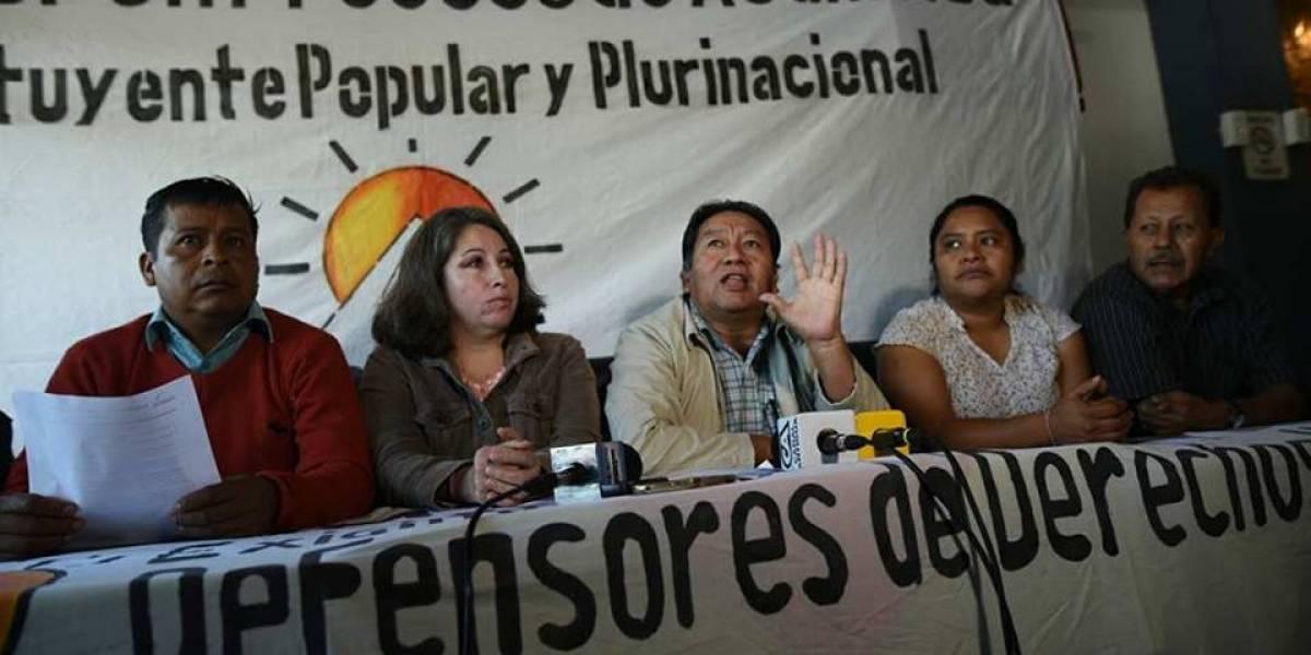 """Codeca anuncia """"paro nacional contra la corrupción e impunidad"""""""