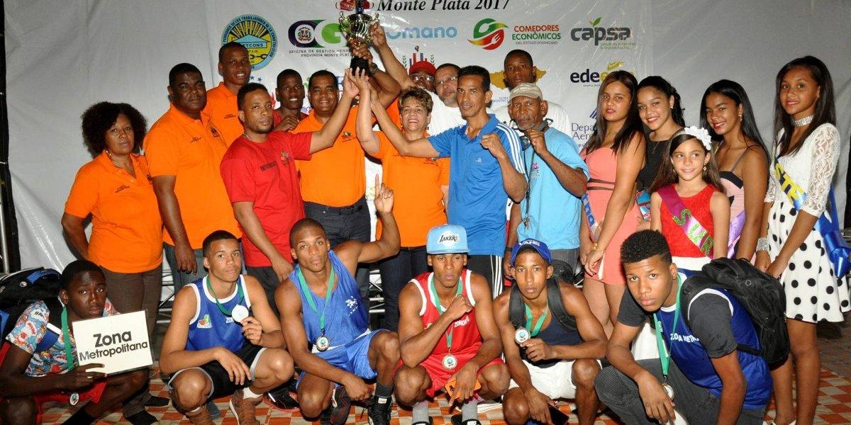 Zona Metropolitana gana la Copa Esmeralda de Boxeo