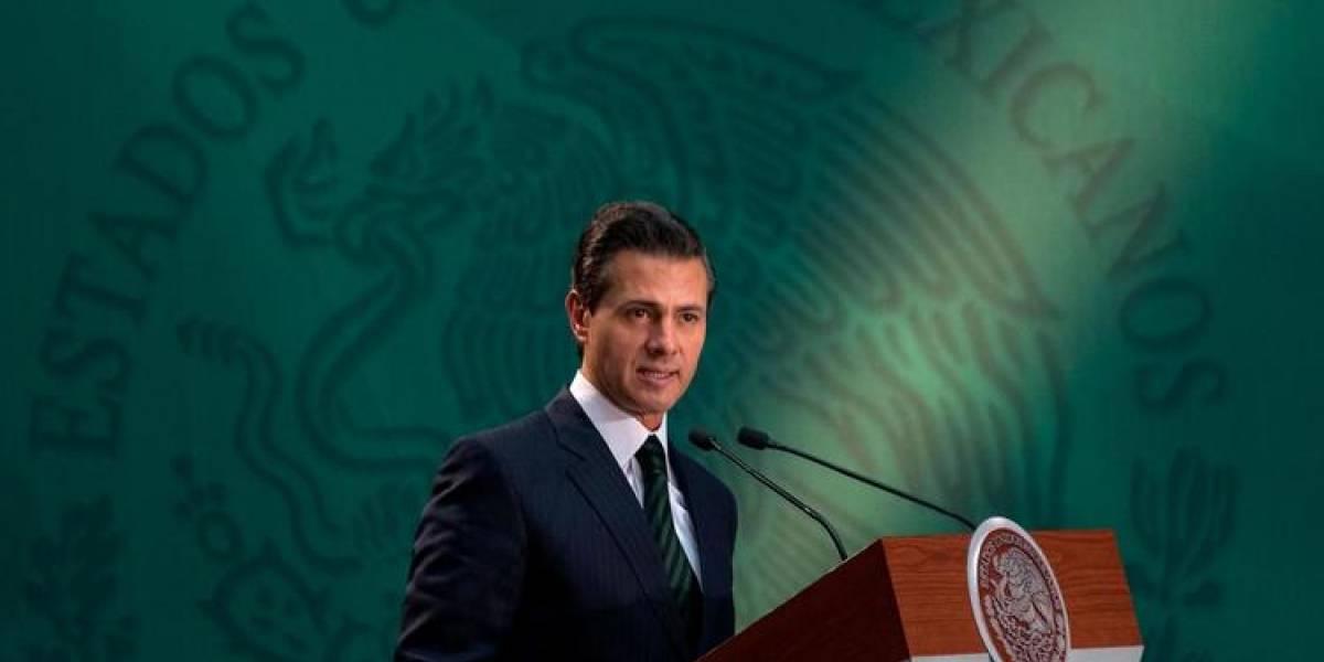 Preside Enrique Peña Nieto ceremonia de abanderamiento del Buque Chichén Itzá