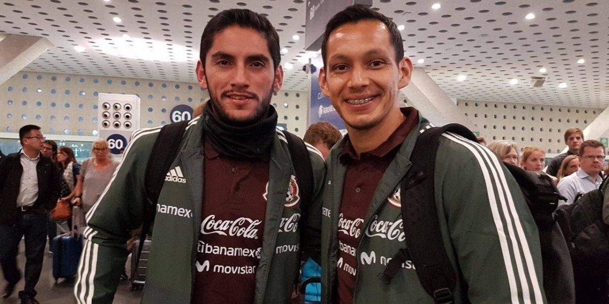 La Selección Mexicana llega a Bruselas para partidos amistosos