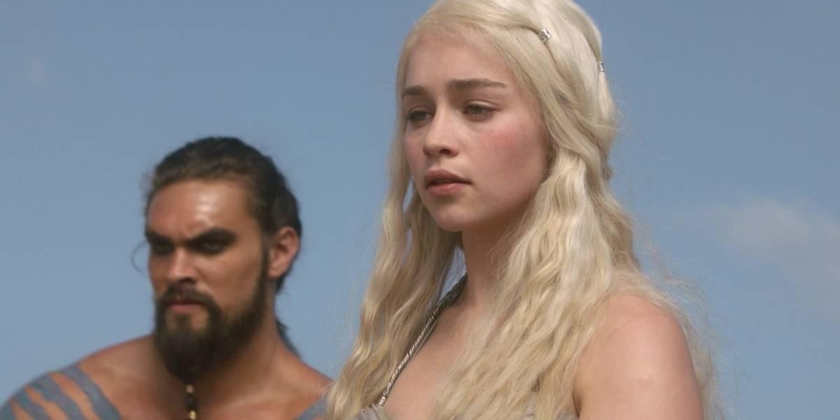 """""""Game of thrones"""": El tierno reencuentro de Daenerys Targaryen y Khal Drogo"""