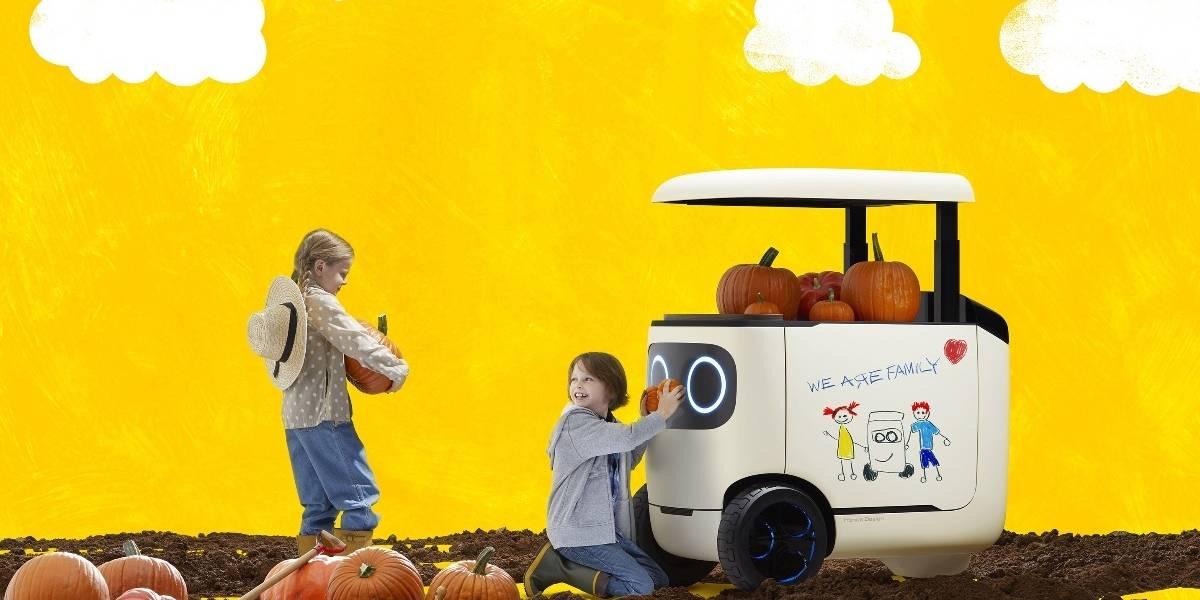 RoboCas Concept, desde cafetera andante a transporte autónomo