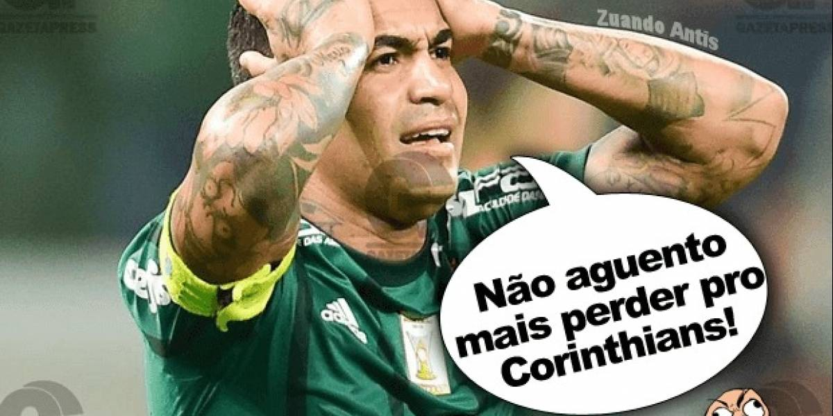 Memes da vitória do Corinthians sobre o Palmeiras movimentam a web