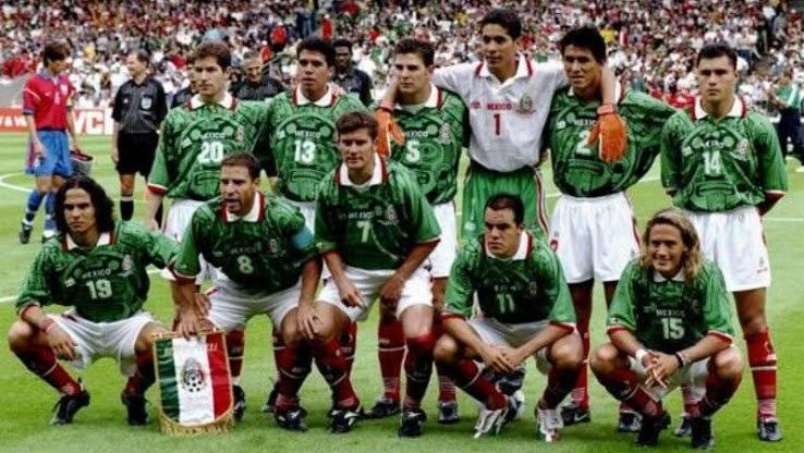 Seleção do México de 1994 Reprodução/Footy Headlines