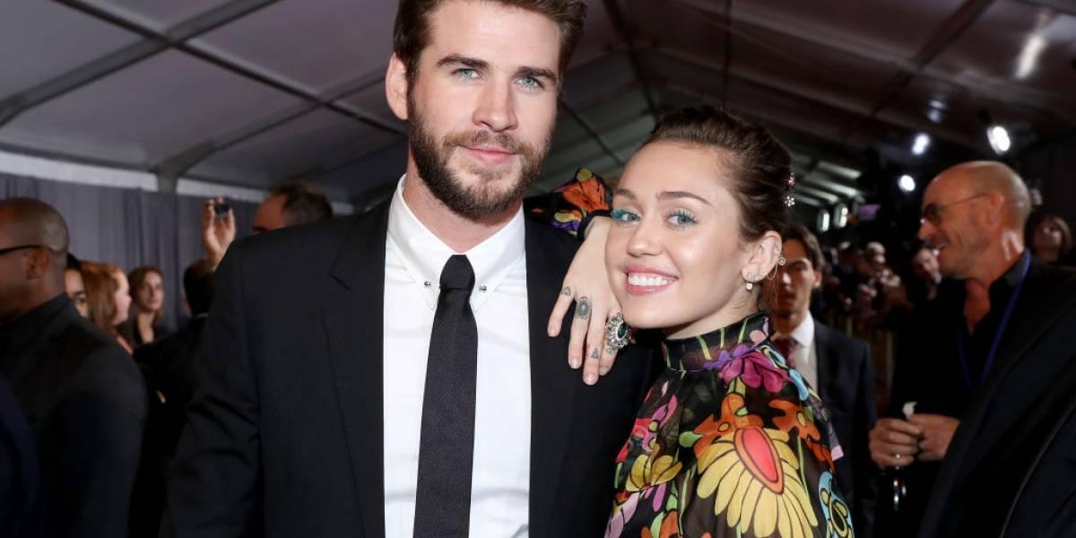 Miley Cyrus e Liam Hemsworth teriam se casado no Ano Novo, no lugar onde fizeram as pazes
