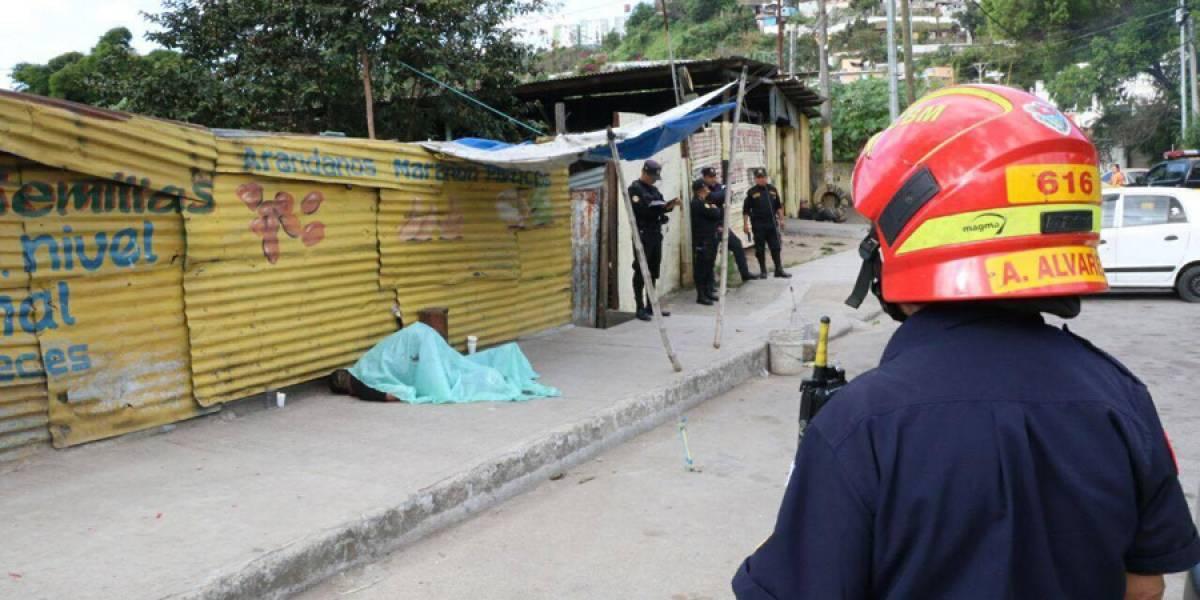 Mototaxista es asesinado en la calzada La Paz