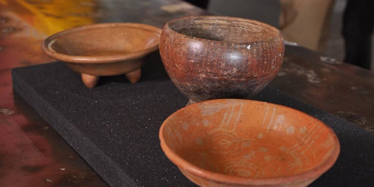 Regresan al país 9 piezas arqueológicas que fueron robadas en los años 1960