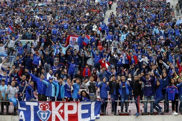 Hinchas de la 'U' agotaron entradas para final de Copa Chile