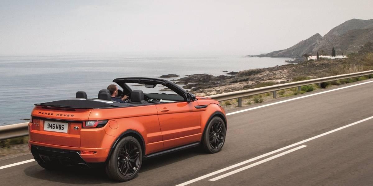 Nueva variante Black Pack para el Range Rover Evoque Convertible