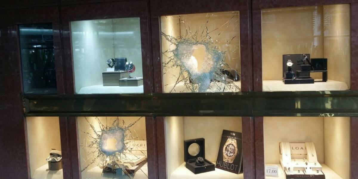 No sólo fue Santa Fe: en la CDMX hay casi 50 robos diarios a negocio