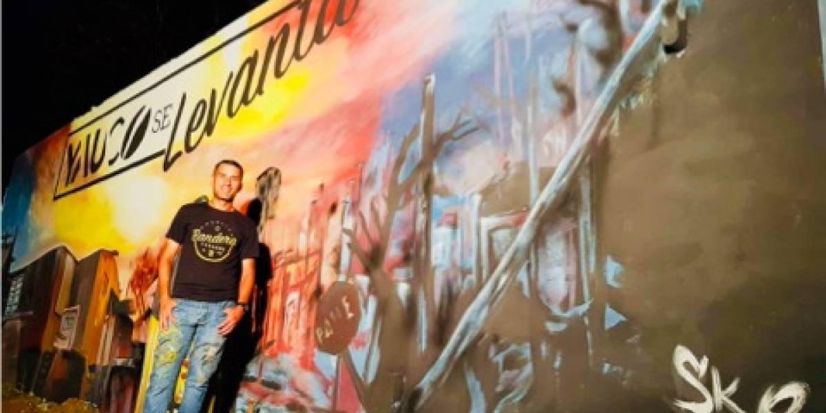 Realizan espectacular mural en Yauco