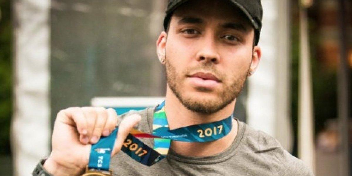 Prince Royce corre en maratón de Nueva York