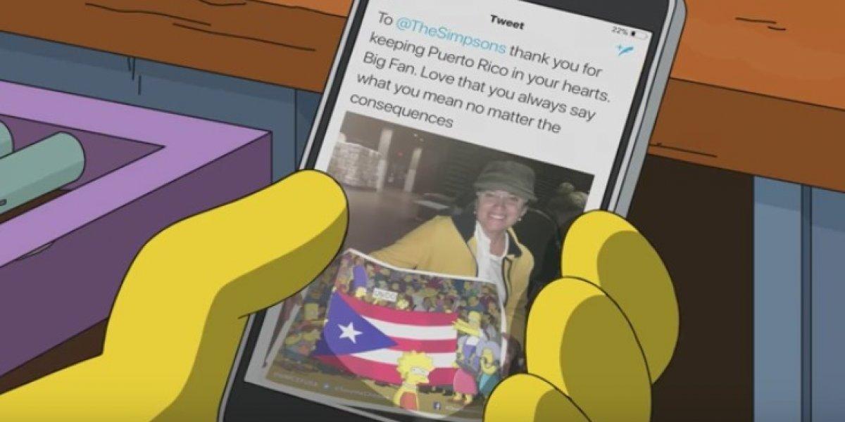 """""""Los Simpsons"""" prometen ayudar a Puerto Rico en nuevo video"""