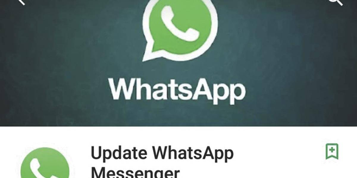 Falso WhatsApp foi baixado 1 milhão de vezes