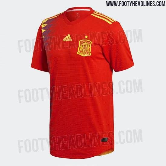 Espanha Reprodução/Footy Headlines