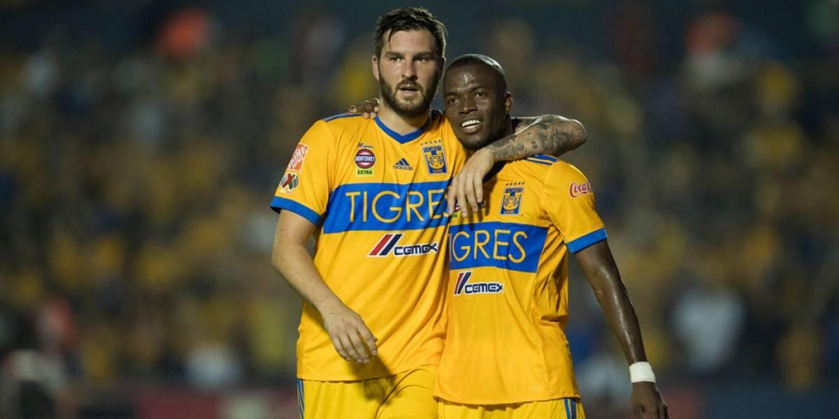 Tigres vence a Necaxa y acechan a Rayados en el liderato general