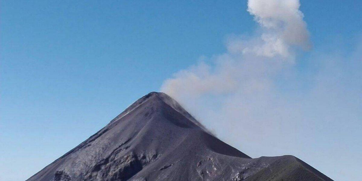 Volcán de Fuego inicia nueva fase eruptiva