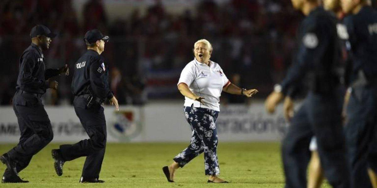 A Panamá le salió caro el show de la señora en la cancha
