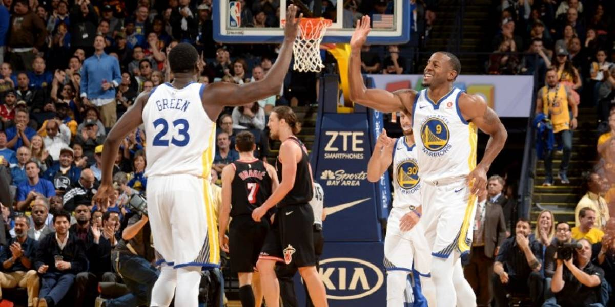 Golden State y Boston siguen arrasando con sus rivales en la NBA