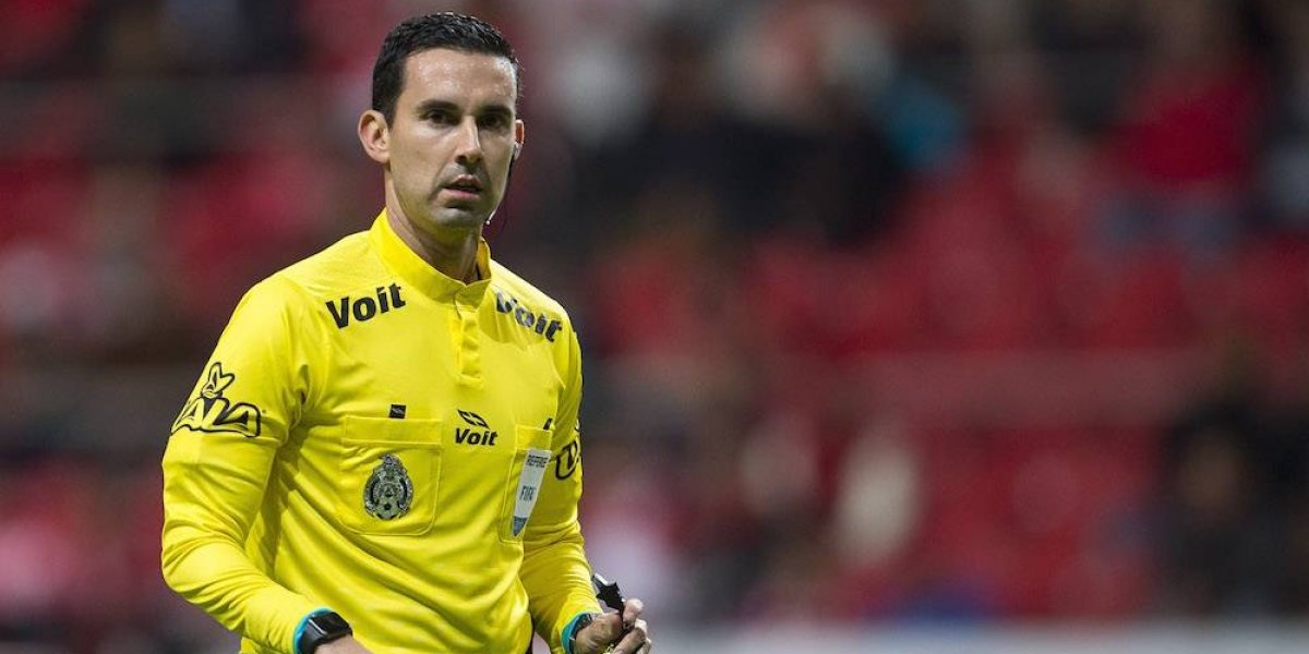 César Ramos encabeza la lista de árbitros para Mundial de Clubes