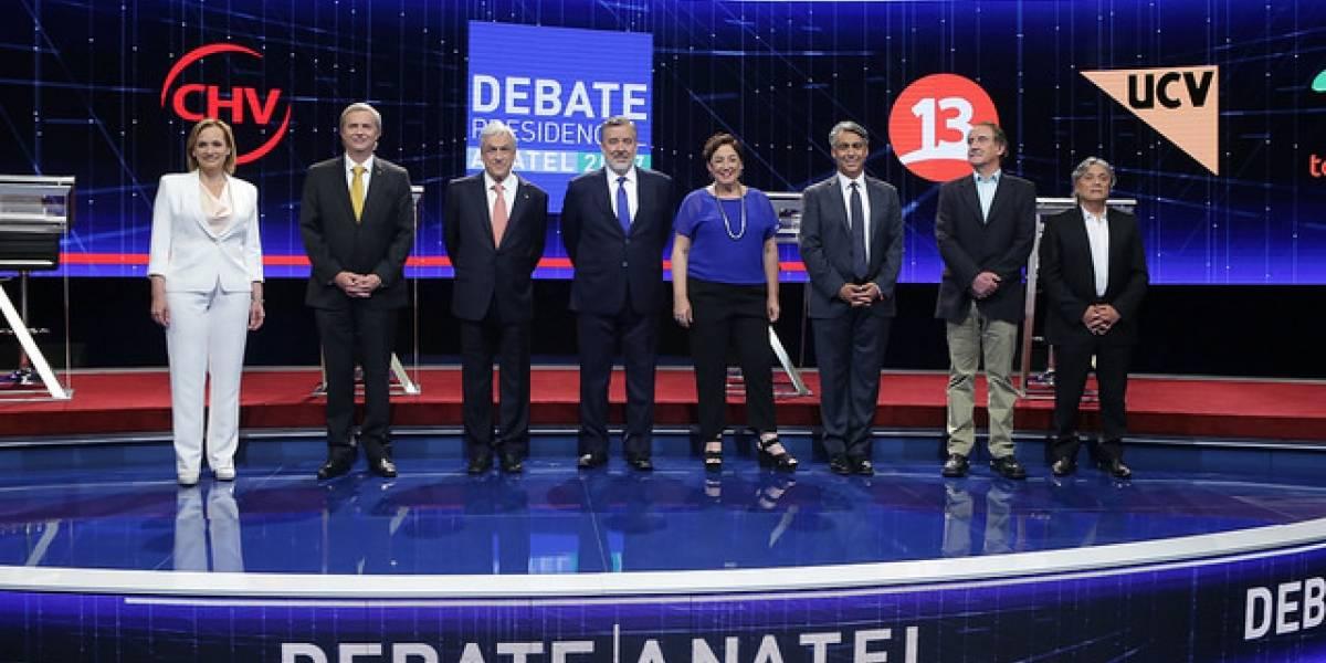 Debate Presidencial Anatel 2017: ¿Por qué canal lo vio el público?