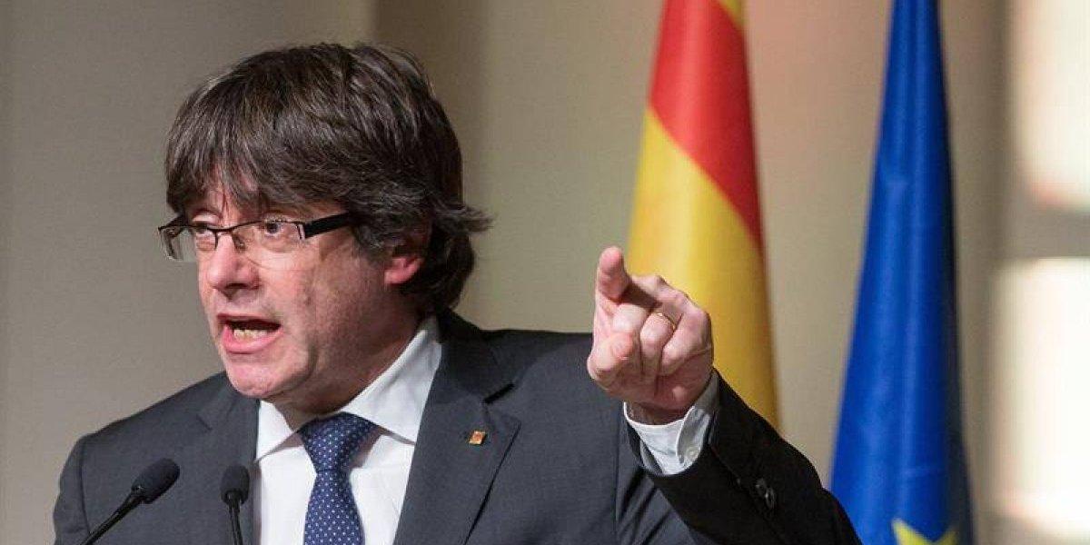 """Destituido presidente catalán dispara contra la Unión Europea y asegura estar """"preparado"""" para ser extraditado"""