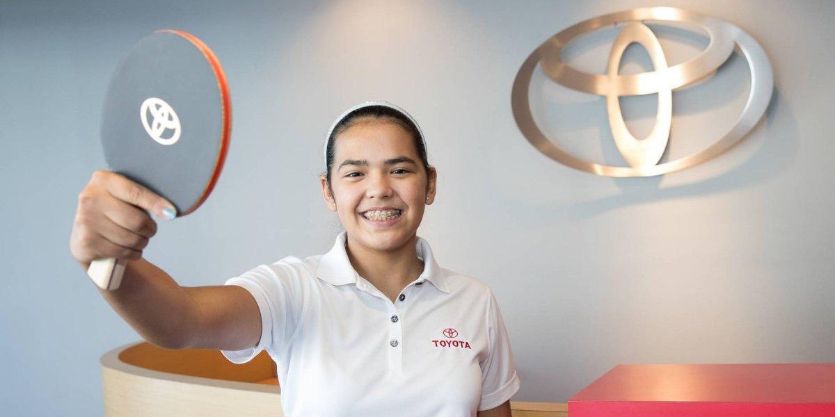 Toyota auspiciará la carrera de Adriana Díaz rumbo a Tokio 2020