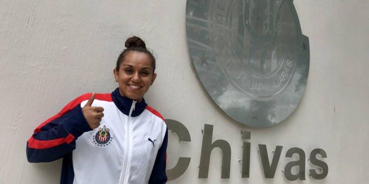 Andrea Sánchez, la consejera del vestidor de Chivas femenil